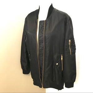Zara oversized bomber jacket - Size XS